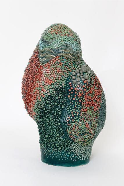 Angelika Arendt, glazed Ceramic 47,0 cm x 29,0 cm x 28,0 cm  Foto: Eric Tschernow