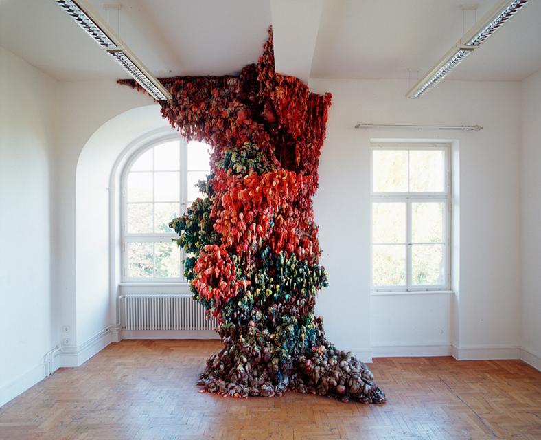 Angelika Arendt, PU-Schaum, Acrylfarbe