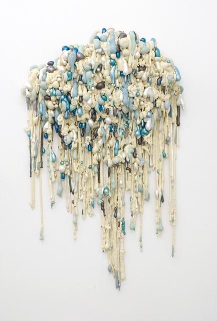Angelika Arendt, PU-Schaum, Acrylfarbe, 160 × 95 × 30 cm