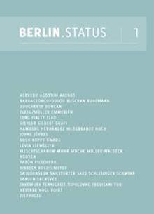 Angelika Arendt, BERLIN.STATUS [1]