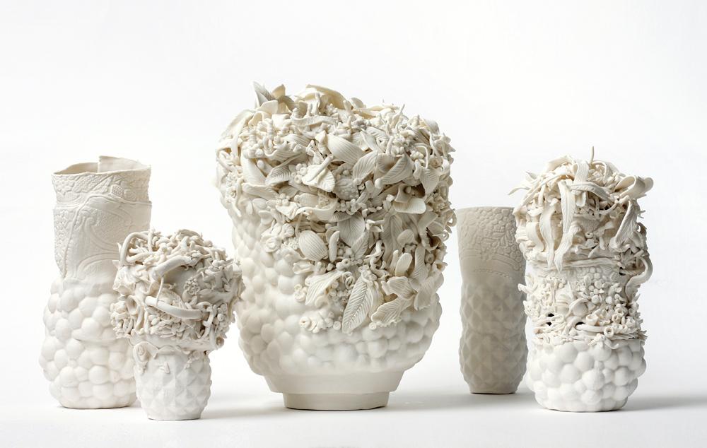 Angelika Arendt, Skulpturengruppe, Porzellan